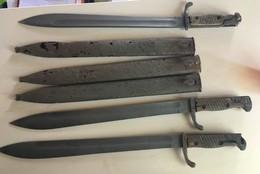 Three Bayonets - Armes Blanches