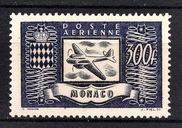 MONACO 1949 / N° 42  - NEUF** /1 - Poste Aérienne