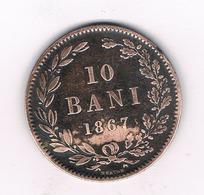 10 BANI  1867 ROEMENIE /6397/ - Romania