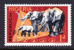 NIGERIA - 1968 1d DEFINITIVE O/P F.G.N. FINE MNH ** SG SEE CATALOGUE NOTE BELOW 172-183 - Nigeria (1961-...)