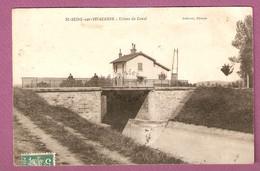 Cpa St Seine Sur Vingeanne Ecluse Du Canal état - édit. Celerier ?  - 2 Scans - Autres Communes