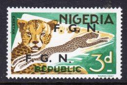 NIGERIA - 1968 3d DEFINITIVE O/P F.G.N. FINE MNH ** SG SEE CATALOGUE NOTE BELOW 172-183 - Nigeria (1961-...)