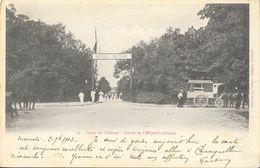 Camp De Chalons - Entrée De L'Hôpital Militaire, Ambulance - Librairie Militaire Guérin - Carte N° 13 Dos Simple 1903 - Casernas