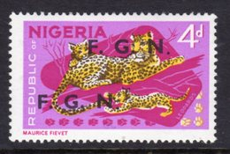NIGERIA - 1968 4d DEFINITIVE O/P F.G.N. FINE MNH ** SG SEE CATALOGUE NOTE BELOW 172-183 - Nigeria (1961-...)