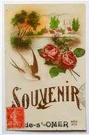 "62 . SAINT OMER . "" Souvenir De Saint Omer "" - Saint Omer"