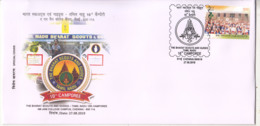 10th Camporee Of The Bharat Scouts And Guides Tamilnadu, Special Cover 2019 , Scouting, Jamboree, Organization, - Lettres & Documents