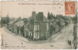 Orne : LA  FERTE  MACE :  Rue De  Versailles  Et   Avenue  Thiers - La Ferte Mace