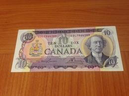 CANADA -10 DOLLARS NEUF 1971 (port à Ma Charge ) - Canada