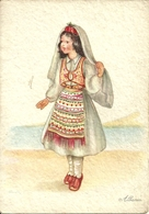 Albania, Costume Albanese - Costumi