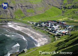 1 AK Färöer Faroe-Islands * Der Ort Tjørnuvík - Er Liegt Im äußersten Norden Der Hauptinsel Streymoy - Luftbildaufnahme - Färöer