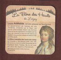 Sous  Bock De Bière - LOUISE ADELAÏDE - Brassée à REMIREMONT - Bière Des Hauts De LIEZEY .Vosges  - La Ferme De Liézey - Beer Mats
