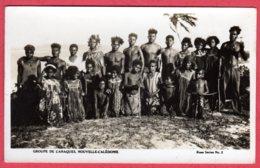 NOUVELLE CALEDONIE - Groupe De Canaques - Nouvelle Calédonie