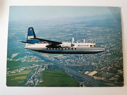 Luxair, Fokker Friendship Rolls-Royce - Postcards