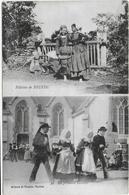 CPA - FILLETTES DE BEUZEC - LA PREMIERE GAVOTTE - N°30 - 1916 - Beuzec-Cap-Sizun