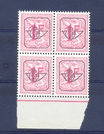 Nr. PRE790A Postfris ** 16 T Blok Van 4  500 Côte - Typos 1951-80 (Ziffer Auf Löwe)