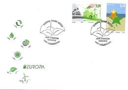 Luxembourg  -  FDC   10.5..2016  -  EUROPA - Tarjetas Máxima