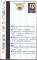 Romania Bucharest Metrorex Subway Ticket - 10 Trips - Subway