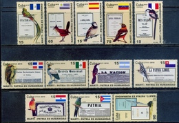 Cuba 2010 / Birds Flags MNH Aves Banderas Vögel / C7418  37-21 - Vögel