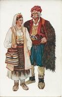 Costumi Nazionali, Mostar (Bosnia Herzegovina) Vladimir Kirin Illustratore - Costumi