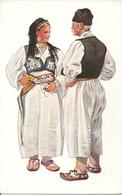 Costumi Nazionali, Travnik - Guca Gora (Bosnia Herzegovina) Vladimir Kirin Illustratore - Costumi