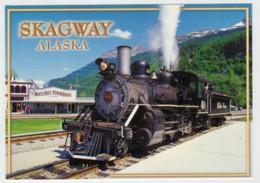 ALASKA   SKAGWAY           TRAIN- ZUG- TREIN- TRENI- GARE- BAHNHOF- STATION- STAZIONI   2 SCAN  (NUOVA) - Treni