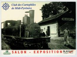 FRANCIA  BLAGNAC           TRAIN- ZUG- TREIN- TRENI- GARE- BAHNHOF- STATION- STAZIONI   2 SCAN  (NUOVA) - Treni
