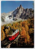 FRANCIA   LE PAYS DU  MONT BLANC          TRAIN- ZUG- TREIN- TRENI- GARE- BAHNHOF- STATION- STAZIONI   2 SCAN  (NUOVA) - Treni