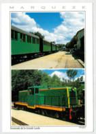 FRANCIA  LANDES       TRAIN- ZUG- TREIN- TRENI- GARE- BAHNHOF- STATION- STAZIONI   2 SCAN  (NUOVA) - Treni