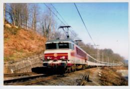 FRANCIA   CAPVERN      TRAIN- ZUG- TREIN- TRENI- GARE- BAHNHOF- STATION- STAZIONI   2 SCAN  (NUOVA) - Treni