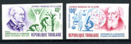 Togo, 1973, WHO, Leprosy, Science, United Nations, MNH Imperforated, Michel 960-961B - Togo (1960-...)