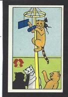 Chromo Chat Cat Position Humaine Habillé Publicité L'alsacienne Alsace Souris Mouse - Animali Abbigliati