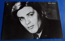 Portrait ALAIN DELON # Alte Progress-Star-Foto-Karte # [19-1057] - Schauspieler