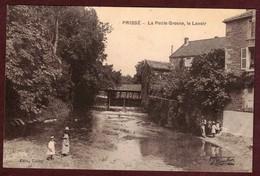 Prissé Le Lavoir  Rivière La Petite Grosne - Saône Et Loire 71960 - Prissé Canton D' Hurigny - Other Municipalities