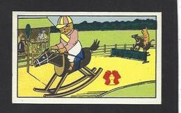 Chromo Chat Cat Position Humaine Habillé Publicité L'alsacienne Alsace Cheval Horse équitation - Animali Abbigliati