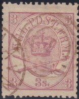 Danmark  .      Yvert   12       .       O     .         Cancelled   .    /   .   Gebruikt - 1864-04 (Christian IX)