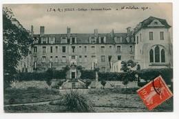 Juilly (Seine-et-Marne) Collège +  Parc     LES 2 CARTES - Frankreich