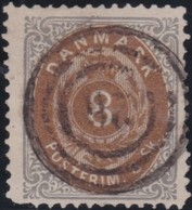 Danmark  .      Yvert   19      .       O     .         Cancelled   .    /   .   Gebruikt - 1864-04 (Christian IX)
