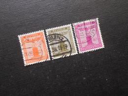 D.R.Mi 149/153/154 - Dienstmarken  1938  Mi 27,00 € - Germany