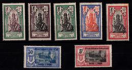 INDE - N° 49/55* - SERIE COMPLETE DE 7 VALEURS. - India (1892-1954)