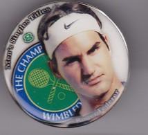 Pîn's  FEDERER - Tenis