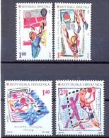 HR 1997-424-7 Olympic Games Atlanta, CROATIA HRVATSKA, 1 X 4v, MNH - Sommer 1996: Atlanta