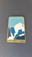 Spilla Antica  - Usata - Anni 40 - Coro Monte Bianco (smaltata) - P515 - Trasporti