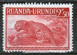 Ruanda-Urundi 1942 Single 2f 50c Stamp From The Definitive Set. - Ruanda-Urundi