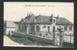 OULCHES LA VALLEE FOULON / Mairie Et école   Mbk22 - Francia