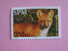 SPM/Saint Pierre Et Miquelon 2004 FAUNE LE RENARD DOUX N°820** - St.Pierre & Miquelon