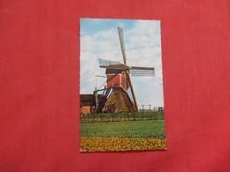 Dutch Windmill Netherland  Stamp  & Cancel  Ref    3579 - Windmills