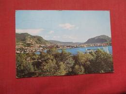 View Of Bergen    Norway Stamp  & Cancel  Ref    3579 - Norway