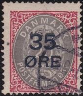 Danmark  .      Yvert   63         .       O     .         Cancelled   .    /   .   Gebruikt - 1905-12 (Frederik VIII)