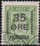 Danmark  .      Yvert   64        .       O     .         Cancelled   .    /   .   Gebruikt - 1905-12 (Frederik VIII)