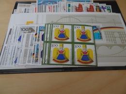 Bund Jahrgang 1990 Viererblock Postfrisch Komplett (11890) - Ungebraucht